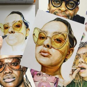 Polaroid Portraits by Karen Goins