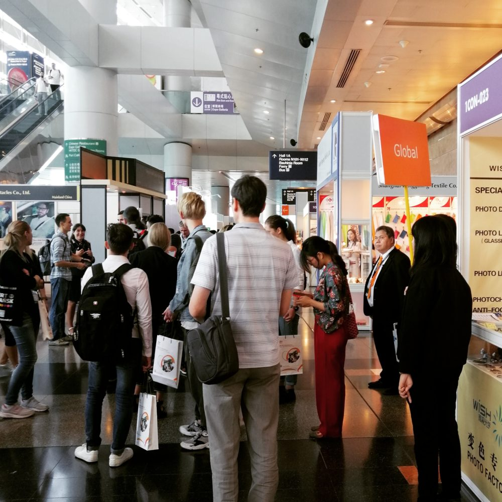 Group tour for buyers during the Hong Kong International Optical Fair 2019