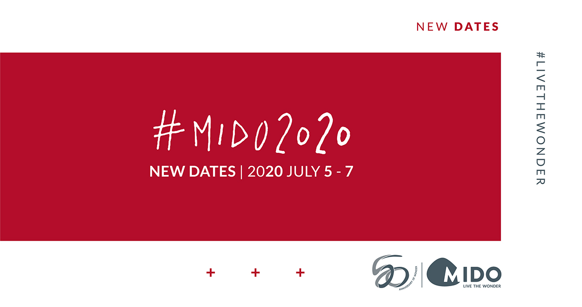MIDO // New dates for 50th edition!
