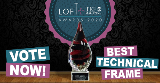 LOFTxTEF Awards // Vote now for Best Technical Frame