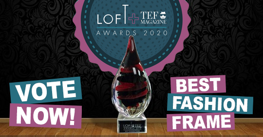LOFTxTEF Awards // Vote now for Best Fashion Frame