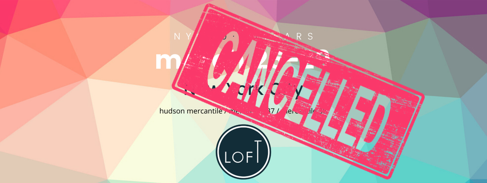 LOFT Eyewear Show // NYC edition cancelled