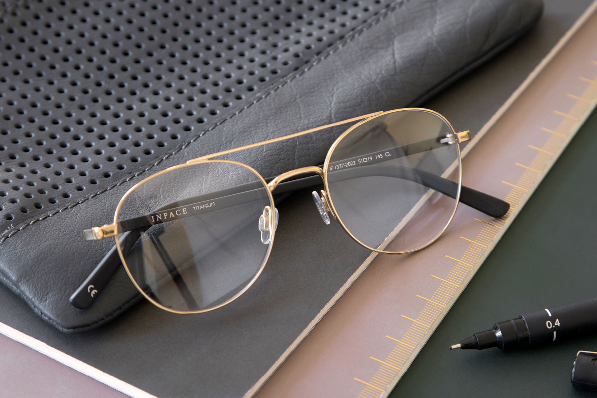 Inface – Stylish and affordable titanium eyewear