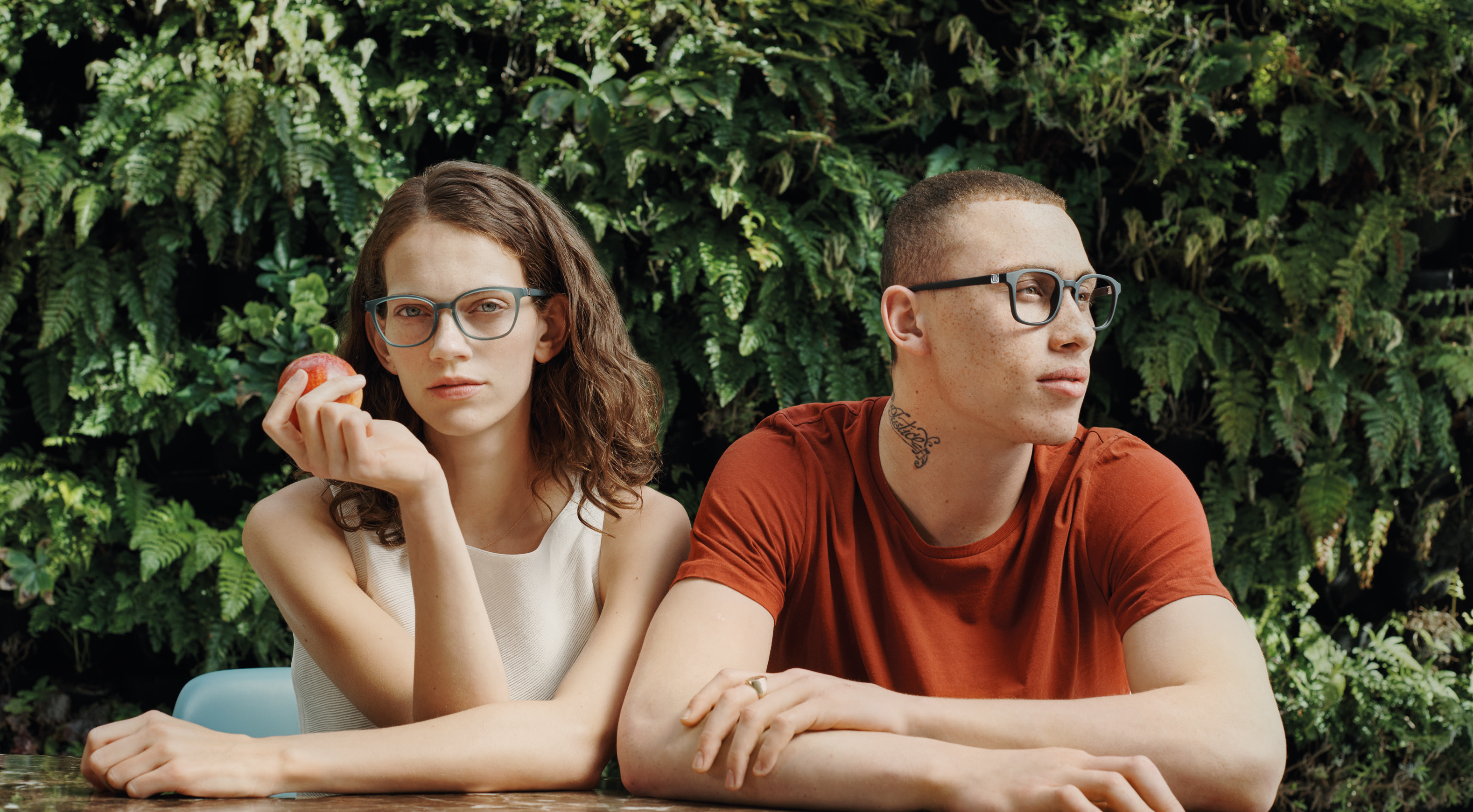 neubau eyewear –  A paradisiacal outlook with Adam & Eva