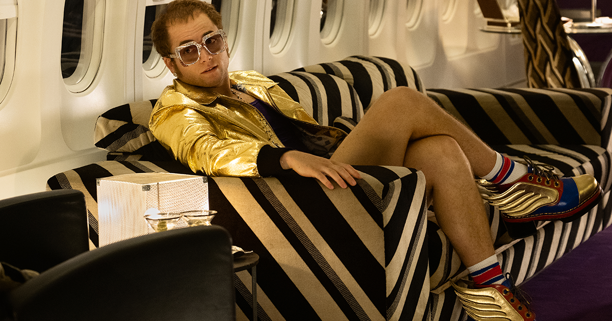Oliver Goldsmith Sunglasses – Elton John wears FUZ in Rocketman