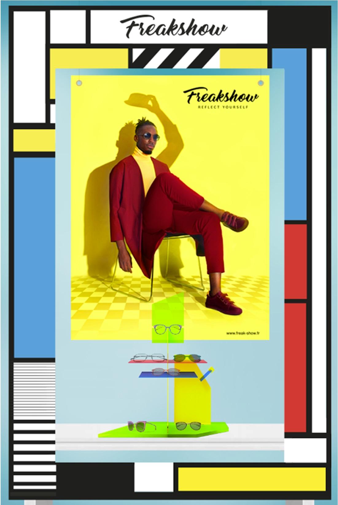 "Freakshow Eyewear – A new ""arty"" scenography"