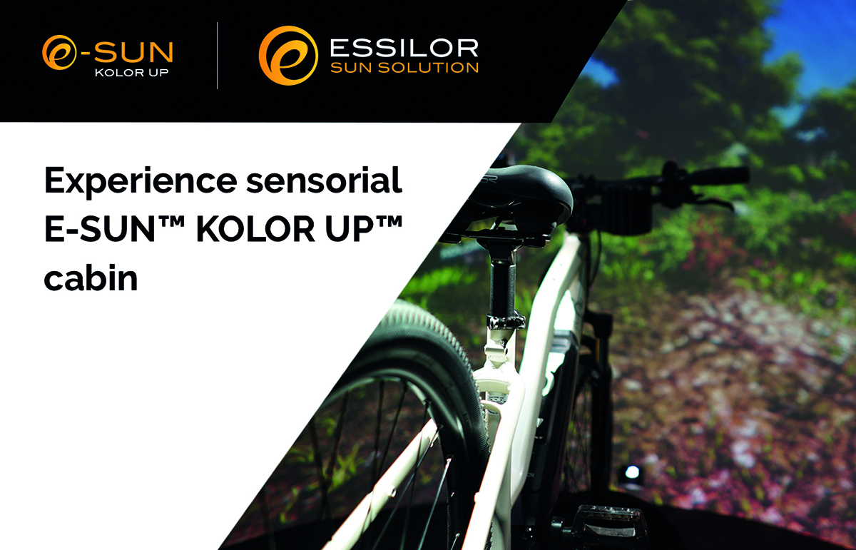 Essilor Sun Solution – Come to live the experience at MIDO!