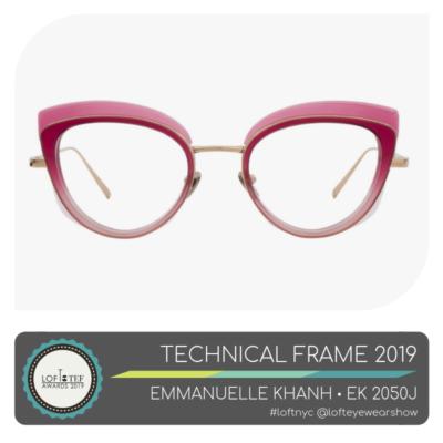 Emmanuelle Khanh - Technical Frame