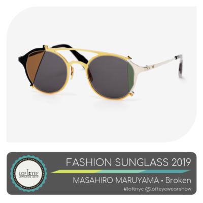 Masahiro Muruyama - Fashion Sunglass