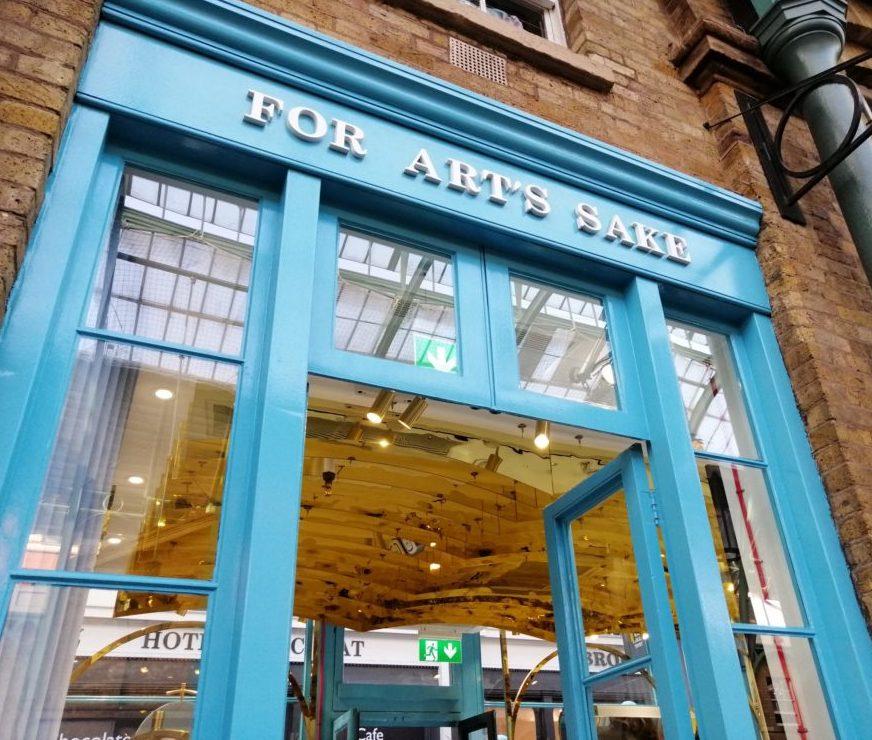For Art's Sake London Launch