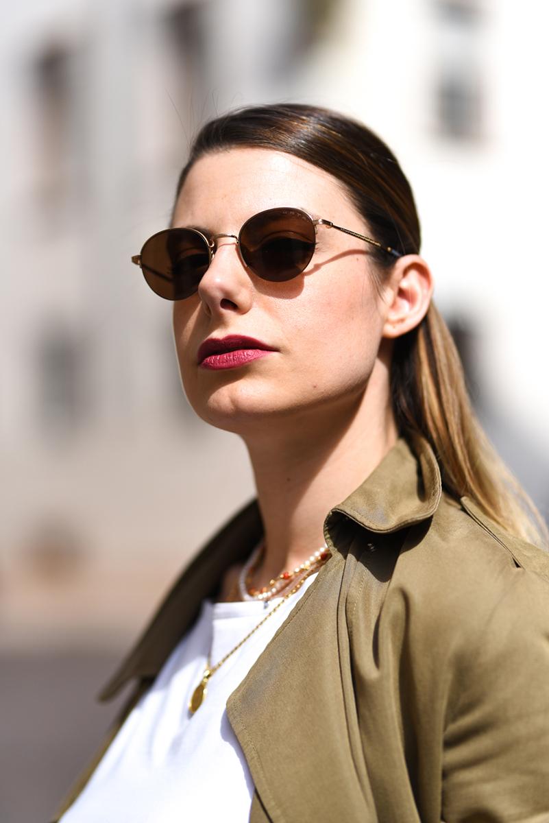 giulia de martin kata sunglasses occhiali da sole frame eyewear pink spring summer 2019 eyewear blog influencer -4