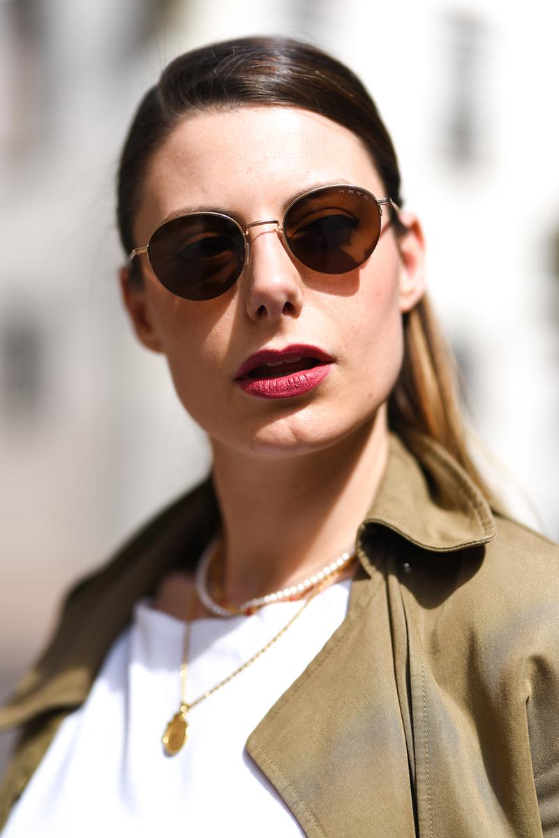 giulia de martin kata sunglasses occhiali da sole frame eyewear pink spring summer 2019 eyewear blog influencer -5