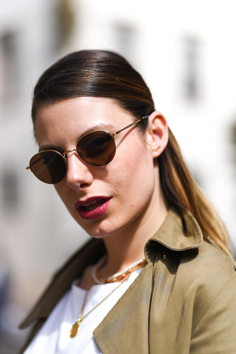 giulia de martin kata sunglasses occhiali da sole frame eyewear pink spring summer 2019 eyewear blog influencer -7