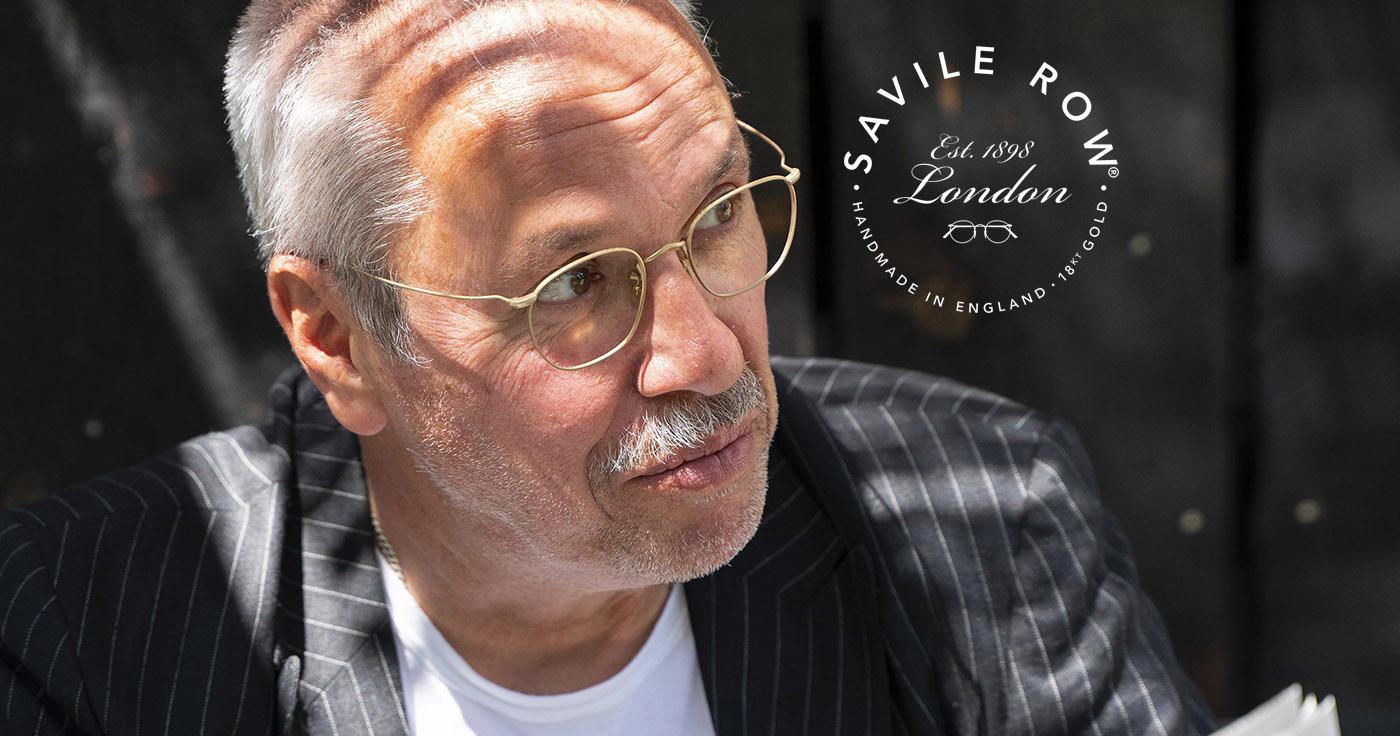 Savile Row – 18Kt rolled gold bespoke eyeglasses