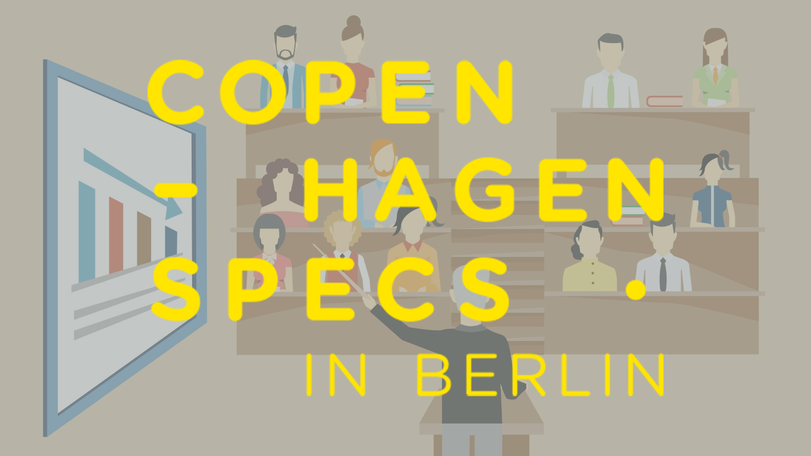 Copenhagen specs in Berlin // Lectures