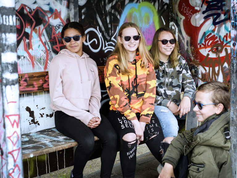 Zoë and Friends wearing Miraflex