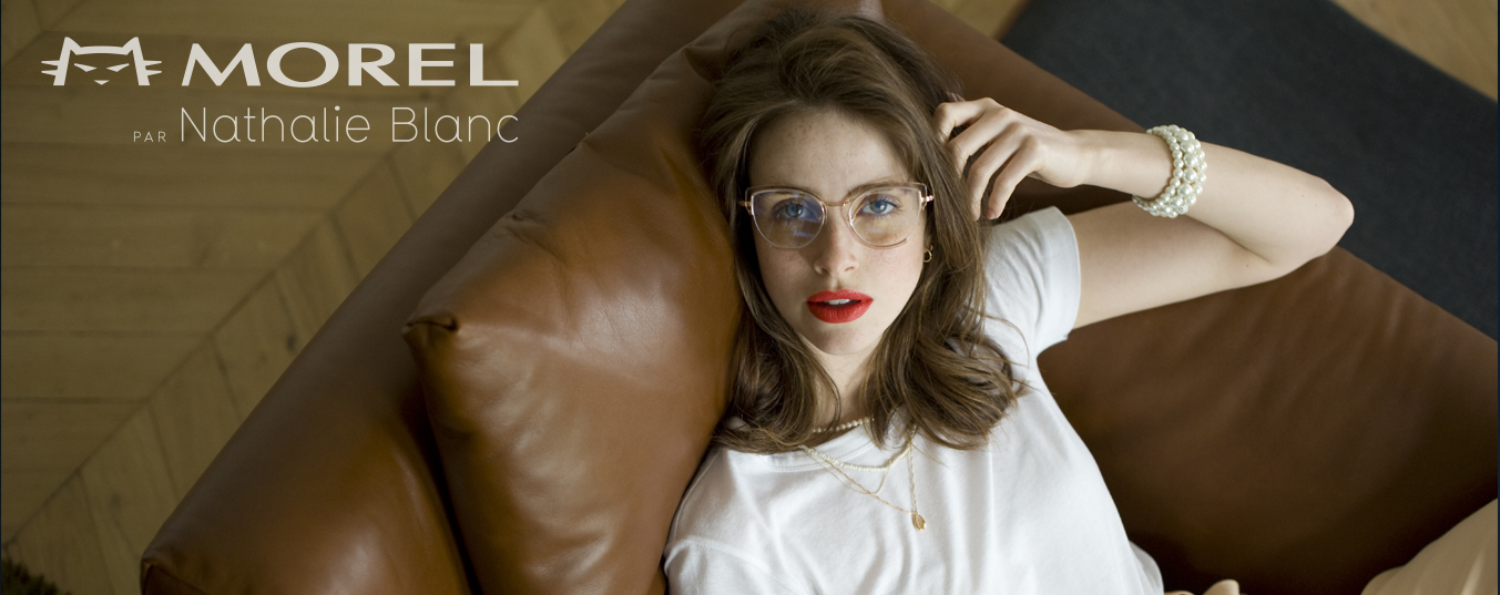 Morel par Nathalie Blanc // A passion for fine eyewear