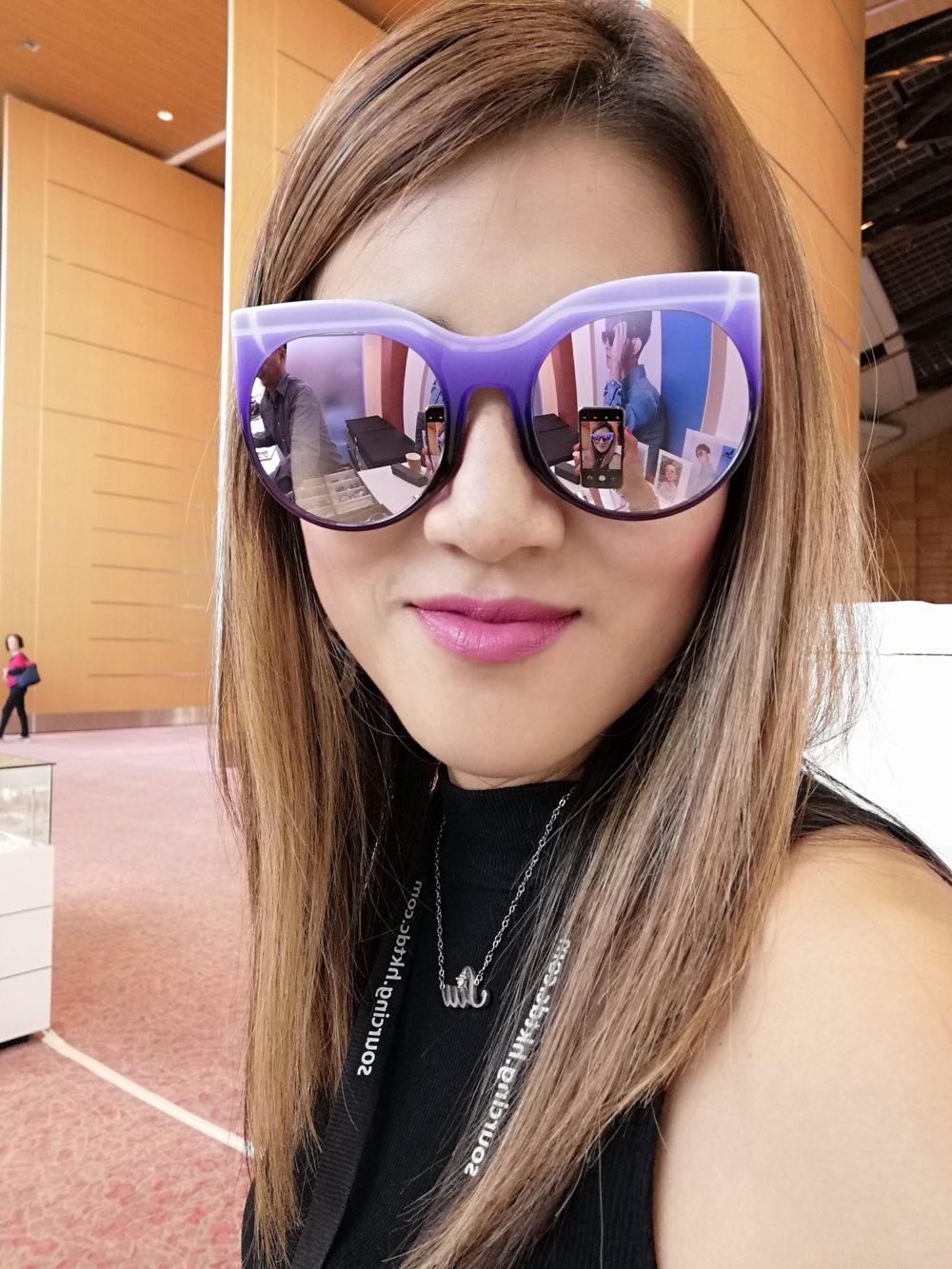 Big horn at Hong Kong International Optical Fair 2019