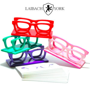 Laibach & York - Business card displays