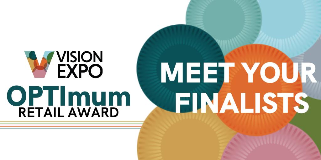 Vision Expo // OPTImum Retail Award Finalists