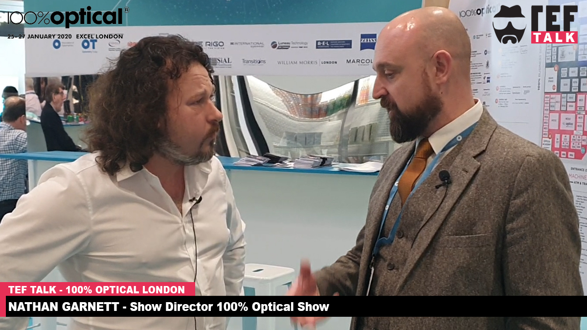 TEFtalk // Nathan Garnett – Show director at 100% Optical