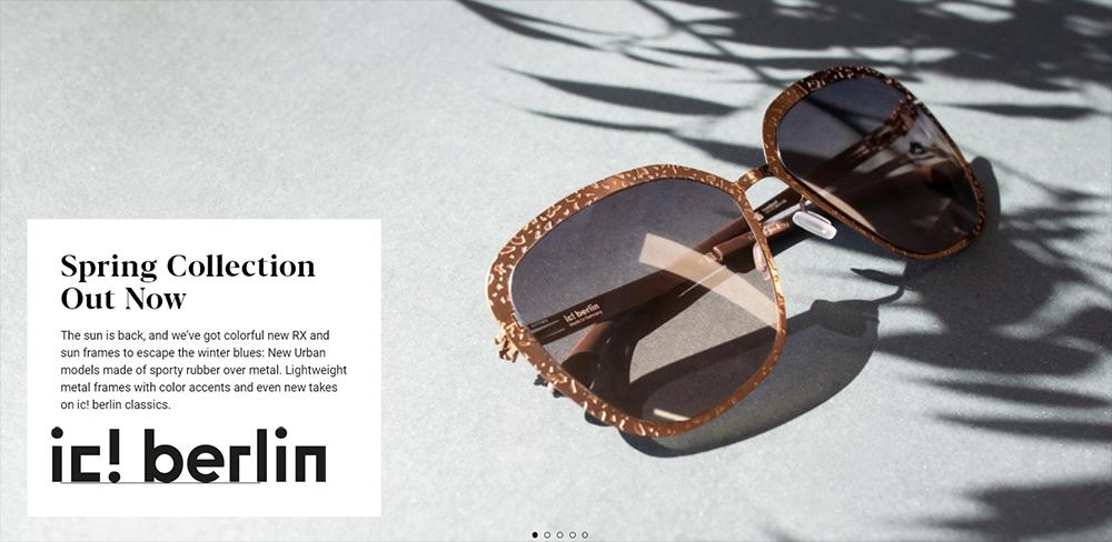 ic! berlin // New summer frames