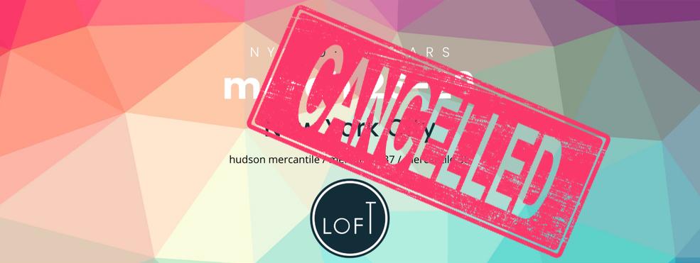 LOFT Eyewear Show // NYC edition cancelled