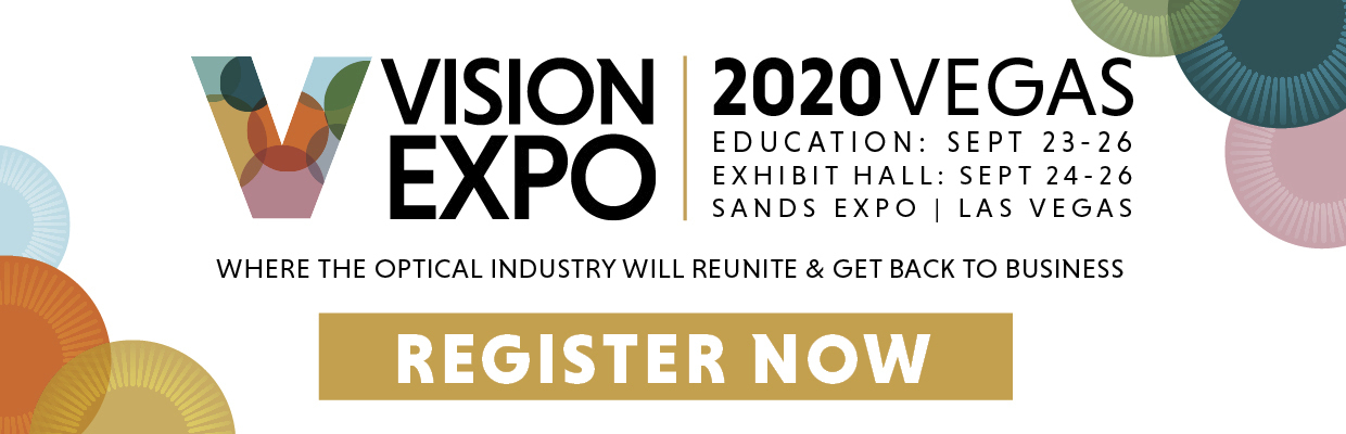 Vision Expo West 2020 // Registration Now Open