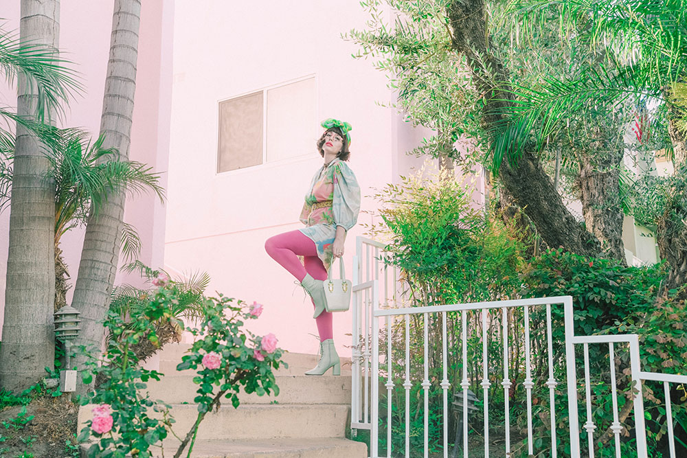 Amy Roiland wearing Ibiza by Etnia Barcelona