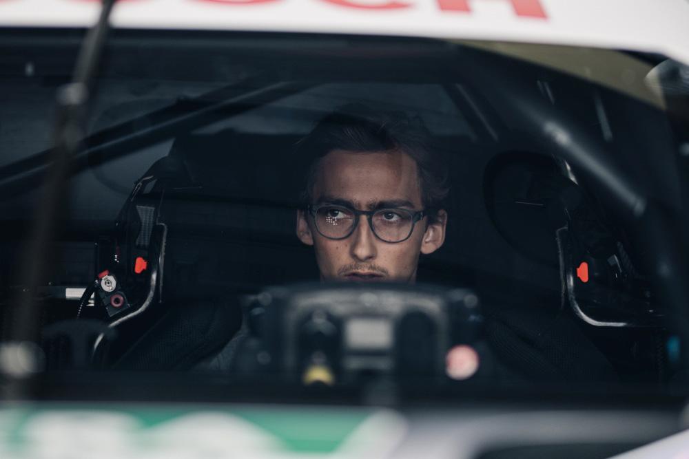 Ferdinand von Habsburg – Aston Martin R-Motorsport race driver with Kerl Eyewear CARB-009 in color raw gold