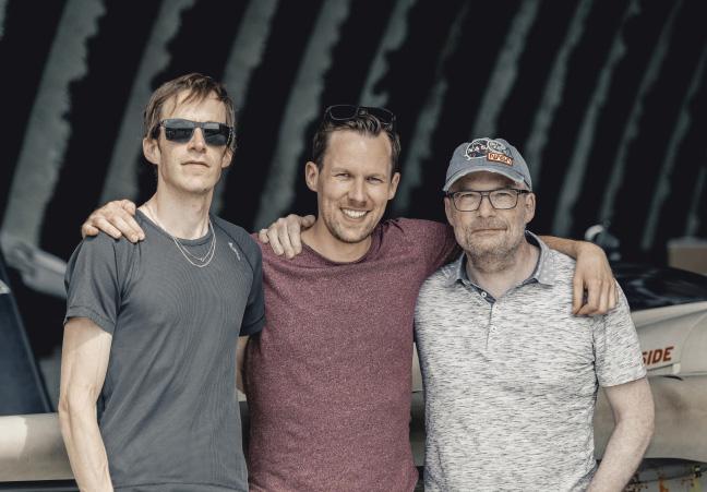 Founders of Kerl Eyewear: Dr. Johannes Dillinger, Dr. Jaromir Ufer, Markus Moser (from left to right)