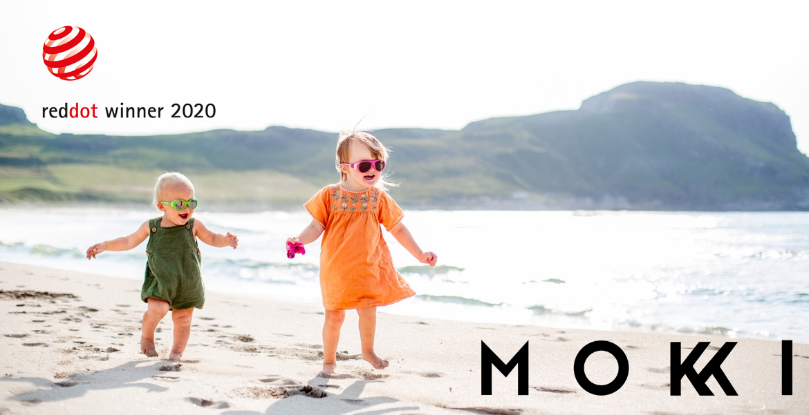 Mokki // Red Dot award in Eyewear for our little ones