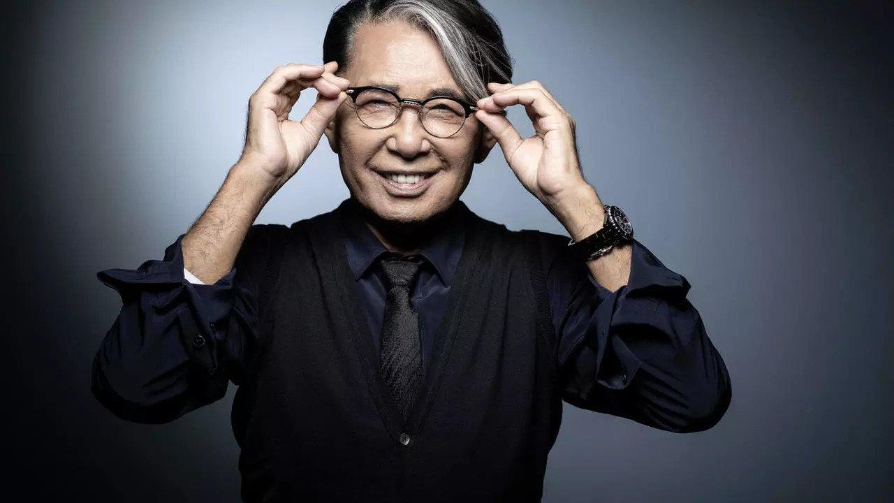 Kenzo Takada // Japanese design legend dies at 81