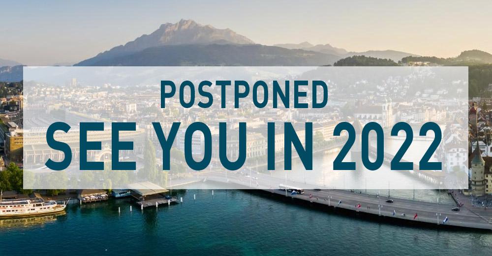 HOF Weekend // Lucerne show postponed to May