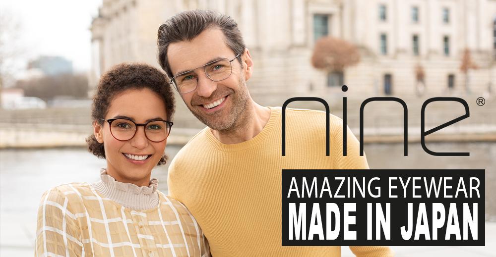 Amazing Eyewear – Made in Japan // Nine