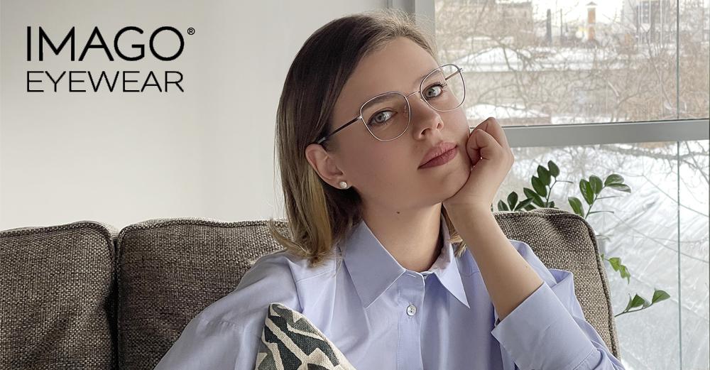 Imago Eyewear // Hip shapes with a twist