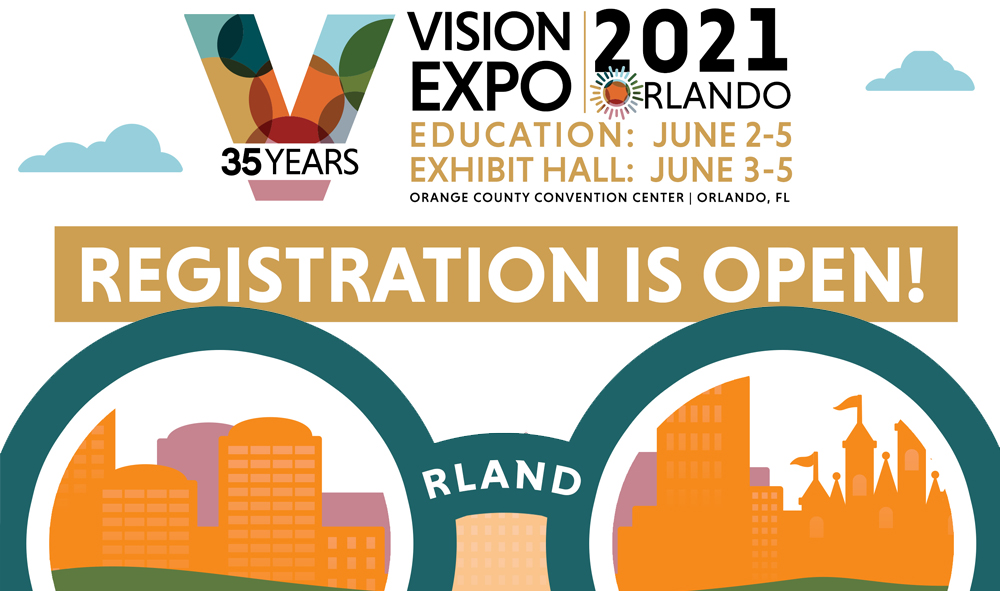 Vision Expo East // Register Now for VEE 2021 in Orlando!