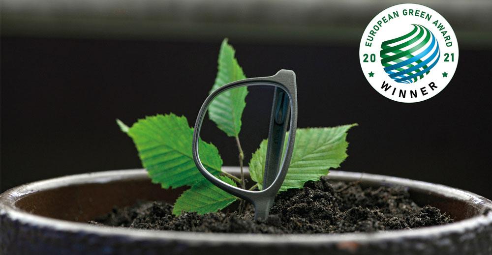 Rolf Spectacles // Bean glasses win the European green award