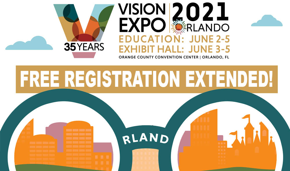 Vision Expo // Free registration extended