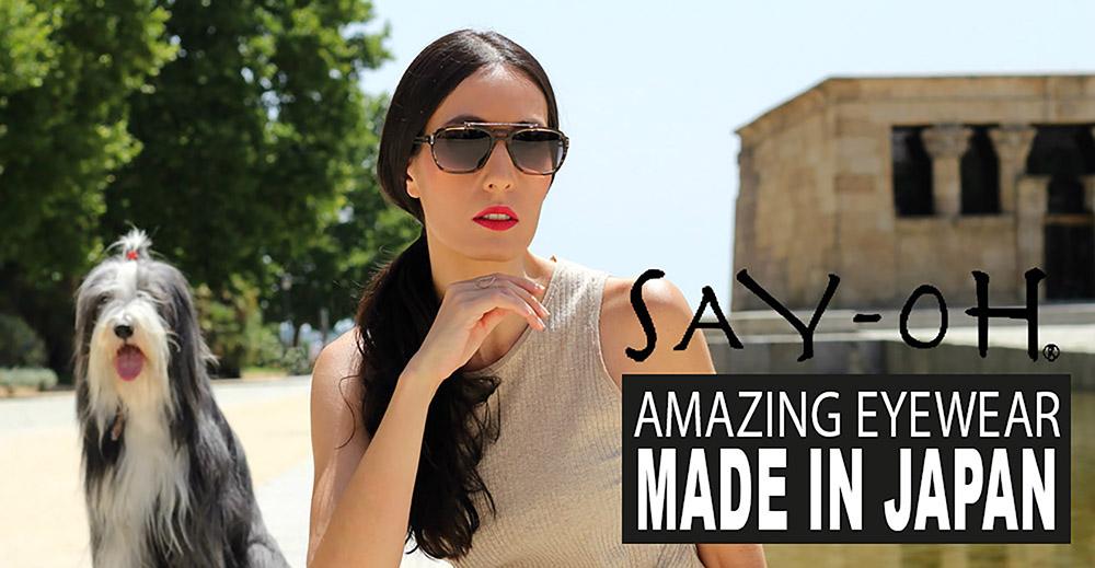 Amazing Eyewear – Made in Japan // Say-oH