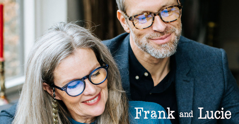 Frank and Lucie // Are you a blue OPTImist?