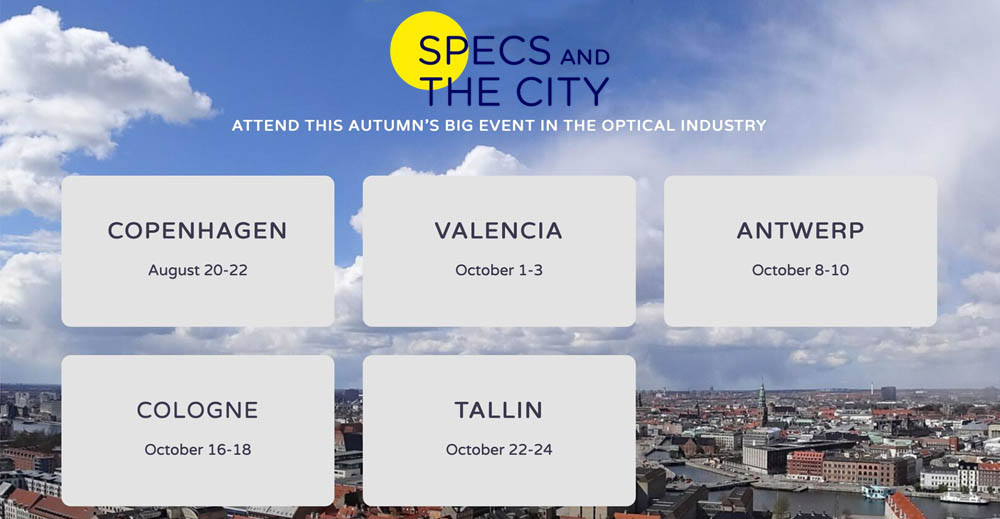 Specs and the City // Five cities for season one